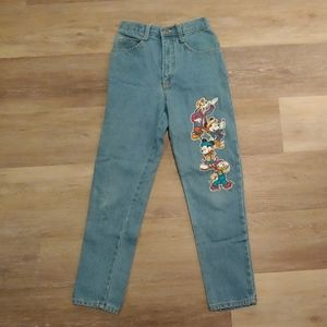 Disney Mickey Unlimited Jerry Leigh Girls Jeans